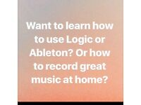 Learn how to use Logic Pro and Ableton!