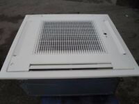 Fujitsu 10 kw ceiling cassette air conditioner fully installed