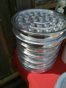Communion Trays and cups, Bread trays