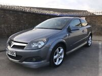 2007 57 Vauxhall Astra 1.9 SRI Diesel Hatchback 3 Door Coupe Gun Metal Grey Many Extra: Aux Cd £1650