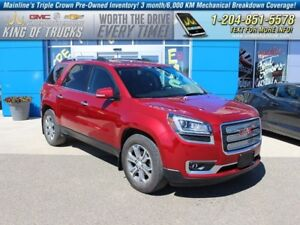 2014 GMC Acadia SLT | AWD | Sunroof | Nav  - Bluetooth -  Leathe