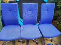 for sale 3 office chairs