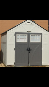 Suncast 8x10 Resin Storage Shed