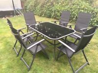 Alexander Rose Patio Table and Chairs