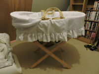 Moses Basket - Perfect Condition