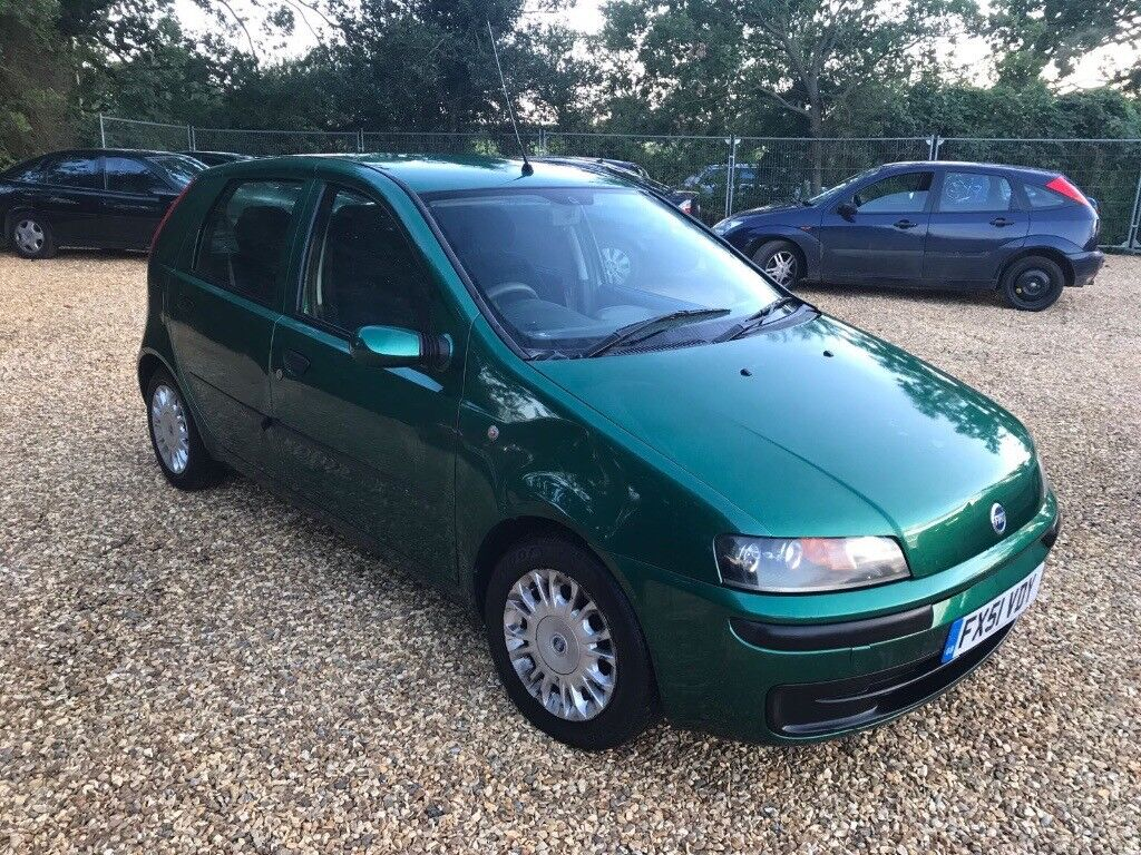 2001 Fiat Punto 1.2 HLX 16V 5 Months MOT 3 Former Keepers Cheap Car