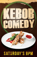 Ticket Giveaway to Kebob Comedy Saturdays
