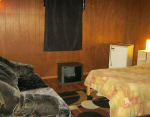 Clean furnished room available now