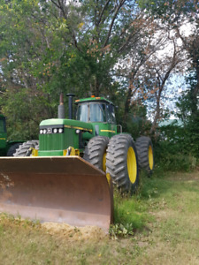 8650 JD Four wheel drive Tractor