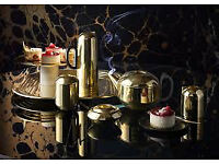 Tom Dixon Form Tea Set in Brass Brand New ALL 7 PIECES in Boxes Highly Desirable Collectible