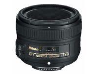 Nikon AF-S 50mm f/1.8G Lens