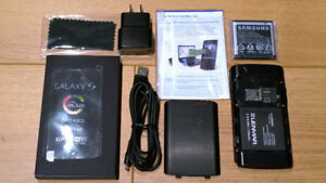 samsung galaxy captivate 16Gb & accessories