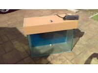 Fish tank 140 ltr with lights and air pump