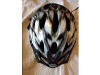 Black and White Helmet from Canyon