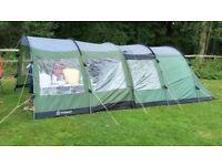 Outwell Redmond 500 Tent, Porch and Carpet