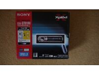 Sony CDX-GT610U CD / MP3 / WMA player with USB, REMOTE + stalk & amp