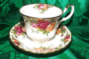 Old Country Roses Royal Albert TeaCups  $10.00 each