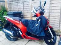 Honda SH 125 2013 lady bike