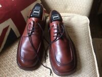 Men's Ecco Top Quality Full Leather Shoes Sz 8 (42)