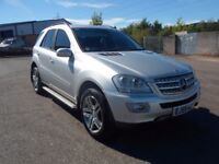 MERCEDES ML 320 CDI SPORT SEMI AUTOMATIC ONLY 87K MILES FULLY LOADED.