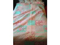 Brand new king size / double patchwork bedding