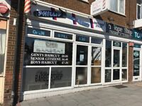 Barber needed , full Or part time , busy Ramsgate shop , rent chair basis , long established shop