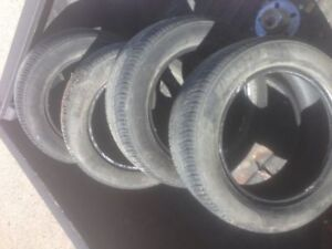 ALL SEASON TIRES 205/55/15 Good offer will take them