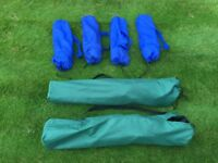 Camping Chairs 2 Adult and 4 Children's