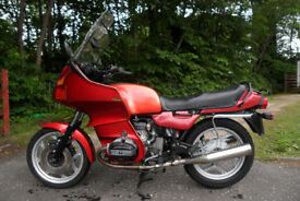 1989 BMW R100RT - Completely rebuilt