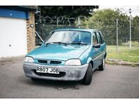 Rover 100 Classic Car - MOT Fail, Good engine