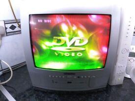* * * Bush TV & DVD Combi DVD142TV + Remote * * *