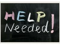 Helper Needed Urgently