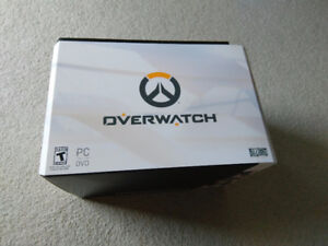 Brand New OVERWATCH Collector's Edition (PC version)