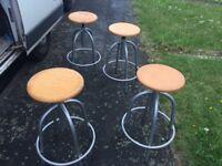 bar stools industrial /retro