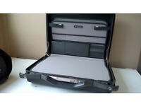 Samsonite Grey Hard Briefcase