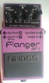Boss BF-3 Flanger Guitar Effect Fx Pedal