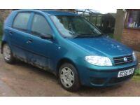 Fiat Punto - MOT Failure - Spares or repair