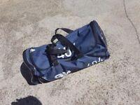 Cricket bag and clothes set