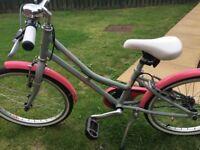 "Girls Pendleton Junior Hanberry Bike - 20"""
