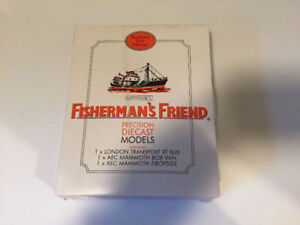Fisherman's Friends Percision Die Cast Models
