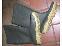 Gents Festival Wellington Boots Dunlop size 8
