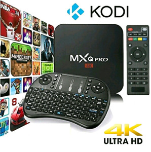 MXQ PRO Smart TV BOX Android 6.0 with  keyboard Fully Programmed
