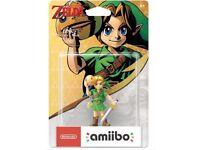Legend of Zelda Majora's Mask Link Amiibo Brand New (Switch/3DS)