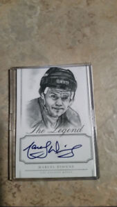 Marcel Dionne Autographed card for sale