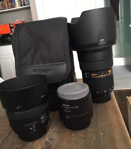 Nikon Photography Lenses and Gear for Sale