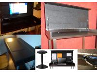 ikea Vika Veine computer desk