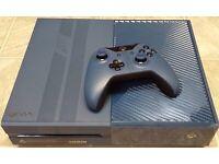 Xbox one 1tb forza edition blue