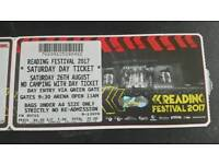 Reading Ticket- Saturday