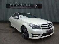 Mercedes C Class 2.1 C 220 CDI BLUEEFFICIENCY AMG SPORT PLUS (white) 2012