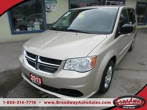 2013 Dodge Grand Caravan FAMILY MOVING SXT MODEL 7 PASSENGER 3.6